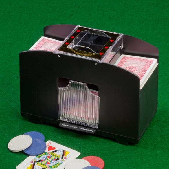 Automatic Card Shuffler - Playing Card Shuffler - Easy Comforts