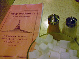 New Piccadilly table
