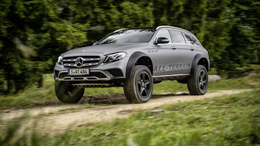 Mercedes E-Class All-Terrain 4x4-squared is the wagon of our dreams - Autoblog