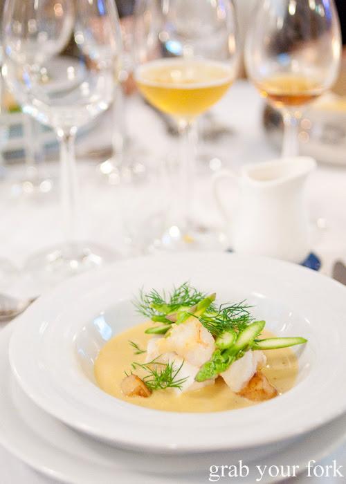 Skagen fish soup at Restaurant Dansk for A Danish Food Trail