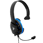 Turtle Beach Recon Chat Wired Mono Gaming Headset for PS4/PS4 Pro - Black/Blue