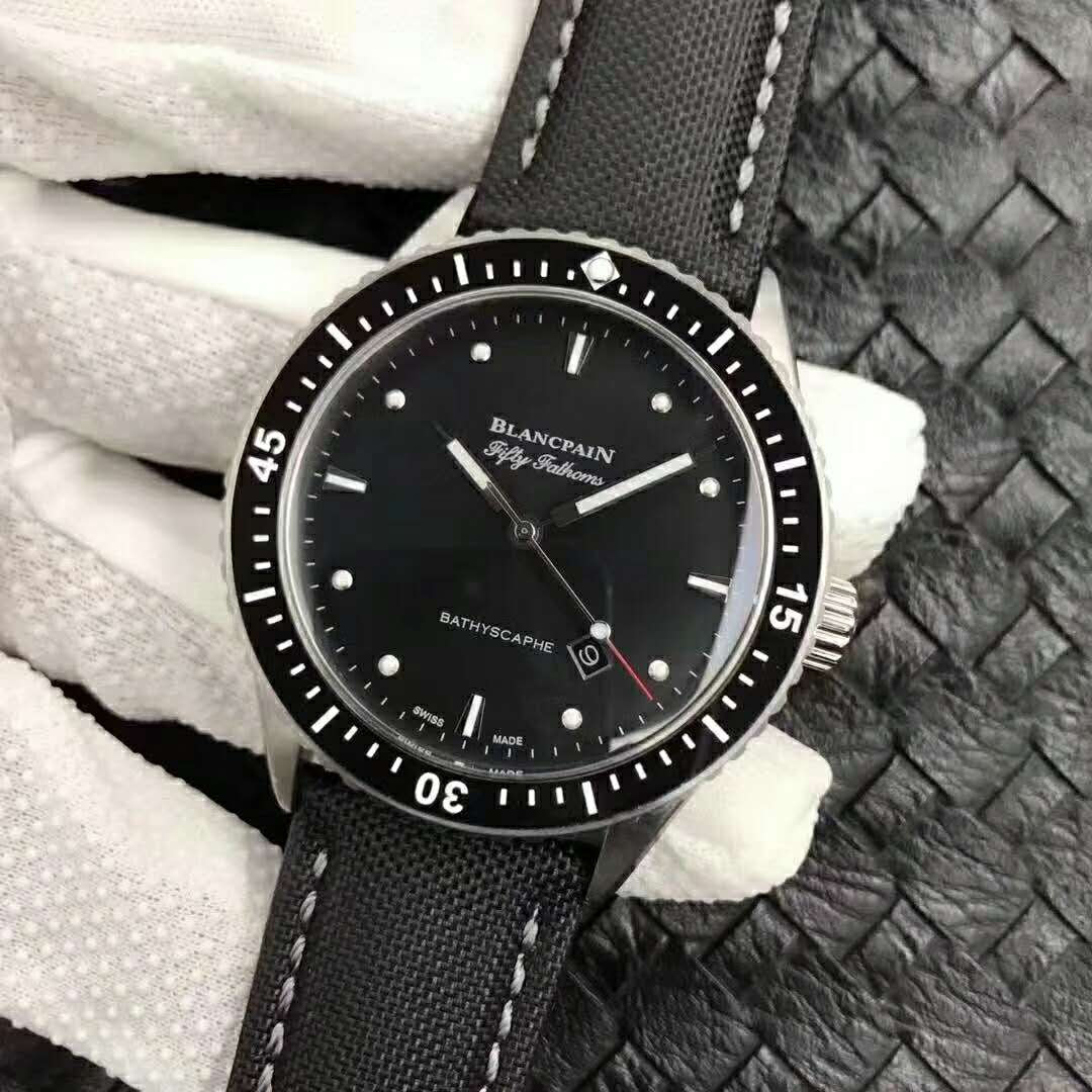 Blancpain Fifty Fathoms Bathyscaphe Black