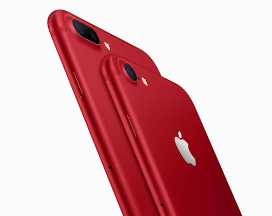 Apple Press Event 2017: New RED iPhone 7, Colorful Watch Bands and Cheaper 9.7-inch iPad