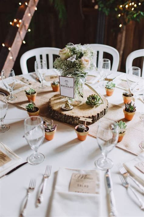 23 Ideas for Featuring Succulents In Your Wedding