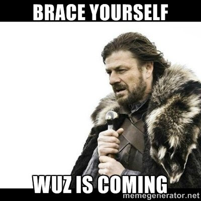 "TAGonSoft on Twitter: ""Brace yourself! A new update of wuz will be released until #Christmas!  @memegenerator """