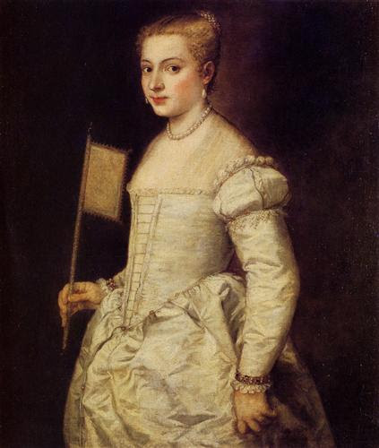 Portrait of a Lady in White - Titian