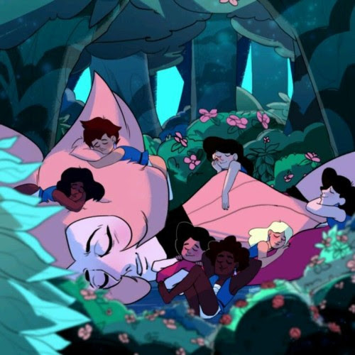 Pink Diamond and Humans zoo