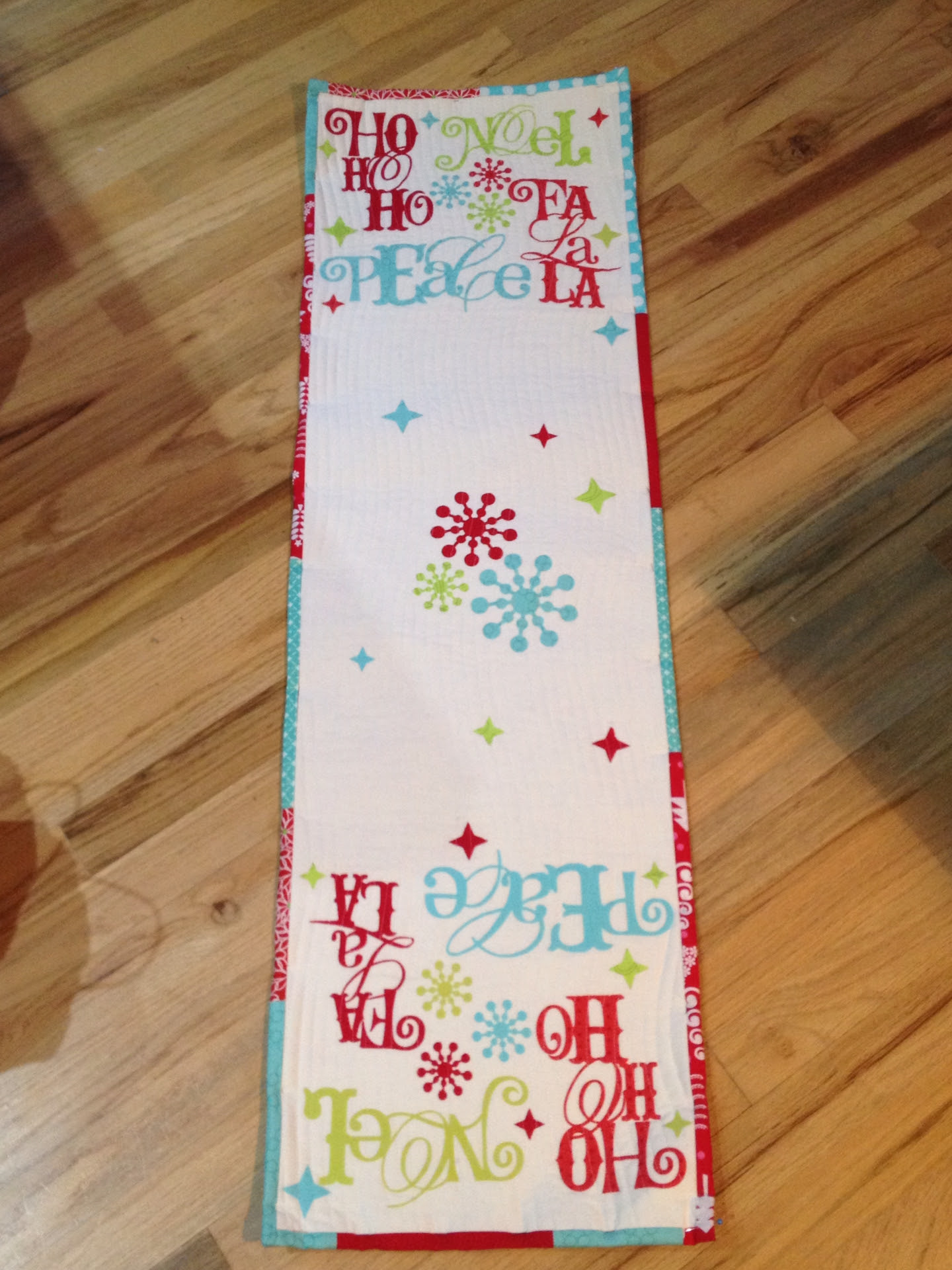 Xmas table runner