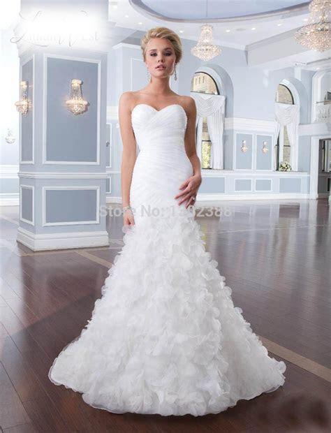Wedding Dresses With Flowers On Bottom Wedding Dress