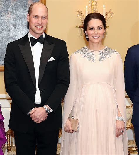 Kate Middleton Is a Goddess in Blush Gown From Alexander
