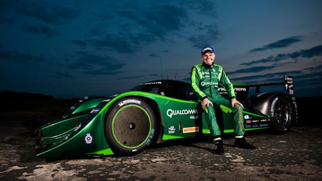 Drayson Racing Electric Car Breaks World Speed Record