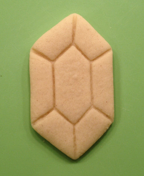 Legend of Zelda Rupee Cookie Cutter - WarpZone Prints