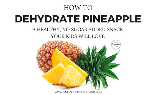 How To Dehydrate Pineapple – A Healthy, No Sugar Added Snack