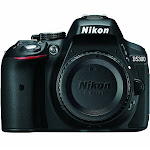 Nikon D5300 24.2 MP Digital SLR Camera - Black - Body Only