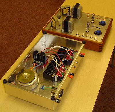 LM3886 Gainclone and 12B4 Tube Preamplifier