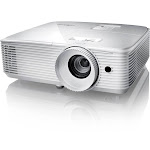Optoma EH334 - Portable 3D Full HD 1080p DLP Projector with Speaker - 3600 ANSI lumens