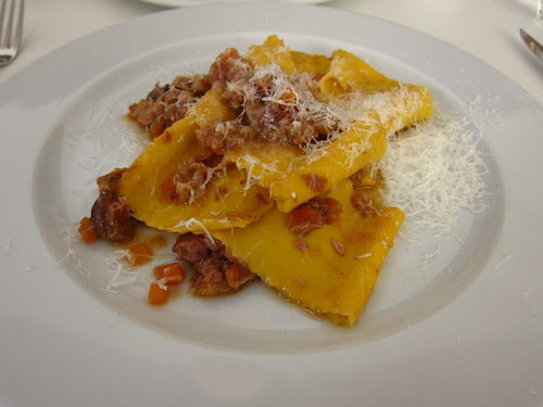 Pappardelle and meat ragu