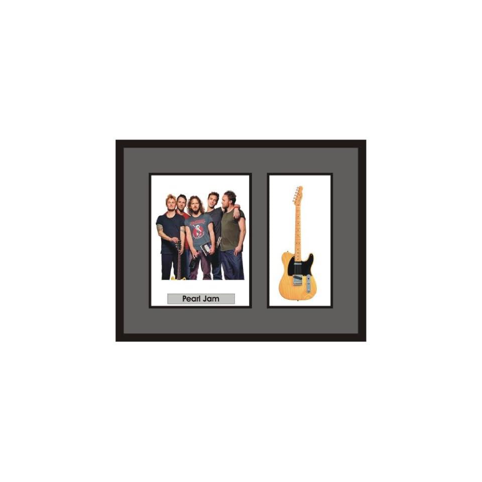 Pearl Jam Guitar Shadowbox Frame On Popscreen