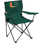 Miami Hurricanes Quad Folding Camp Chair