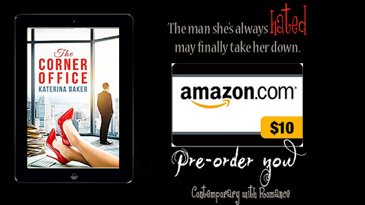 Cool Tidbits/Excerpts + #Giveaway: THE CORNER OFFICE by Katerina Baker (contemporary w/romance) – Just North of Normal Book Blog