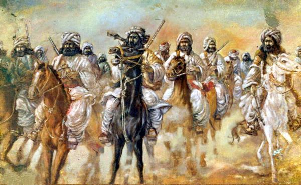 Balochi Yalghar Painting