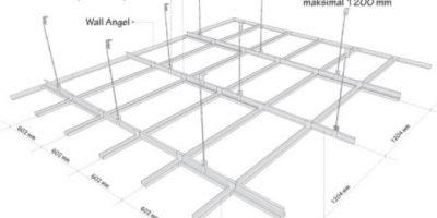 Cara Pasang Plafon Gypsum BangunanRumah com