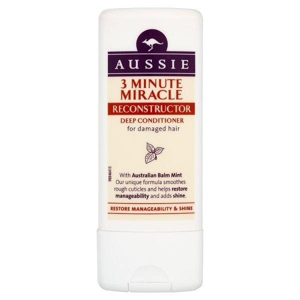 AUSSIE 3 MINUTE MIRACLE DEEP CONDITIONER RECONSTRUCTOR DAMAGED HAIR TREATMENT  eBay