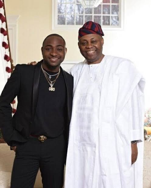 Davido's Father Reportedly Expecting A Baby With His Girlfriend