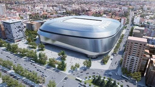 The Real Madrid Stadium Reconstruction Works
