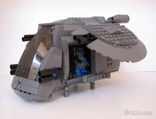 GRY-1's Gunship (side)
