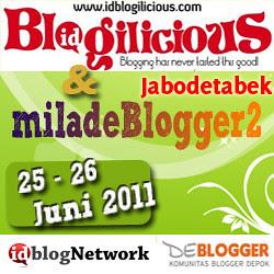 Blogilicious Jabodetabek & miladeBlogger2