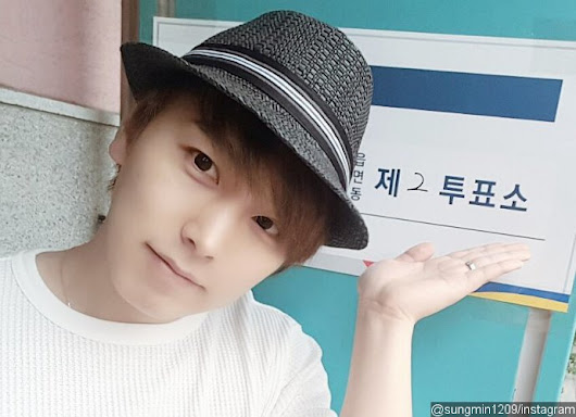 Super Junior Sungmin's Wife Likes This Insulting Photo on Instagram After He Is Shunned by Fans