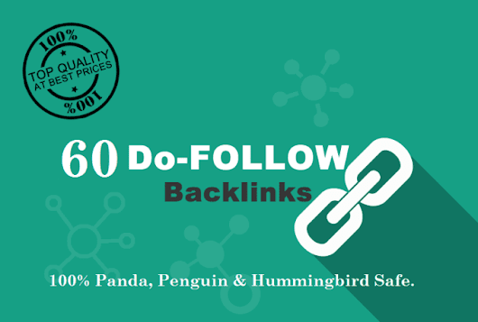 jarin71 : I will 60 do follow,seo backlinks,skyrocket,your google,rankings for $5 on www.fiverr.com
