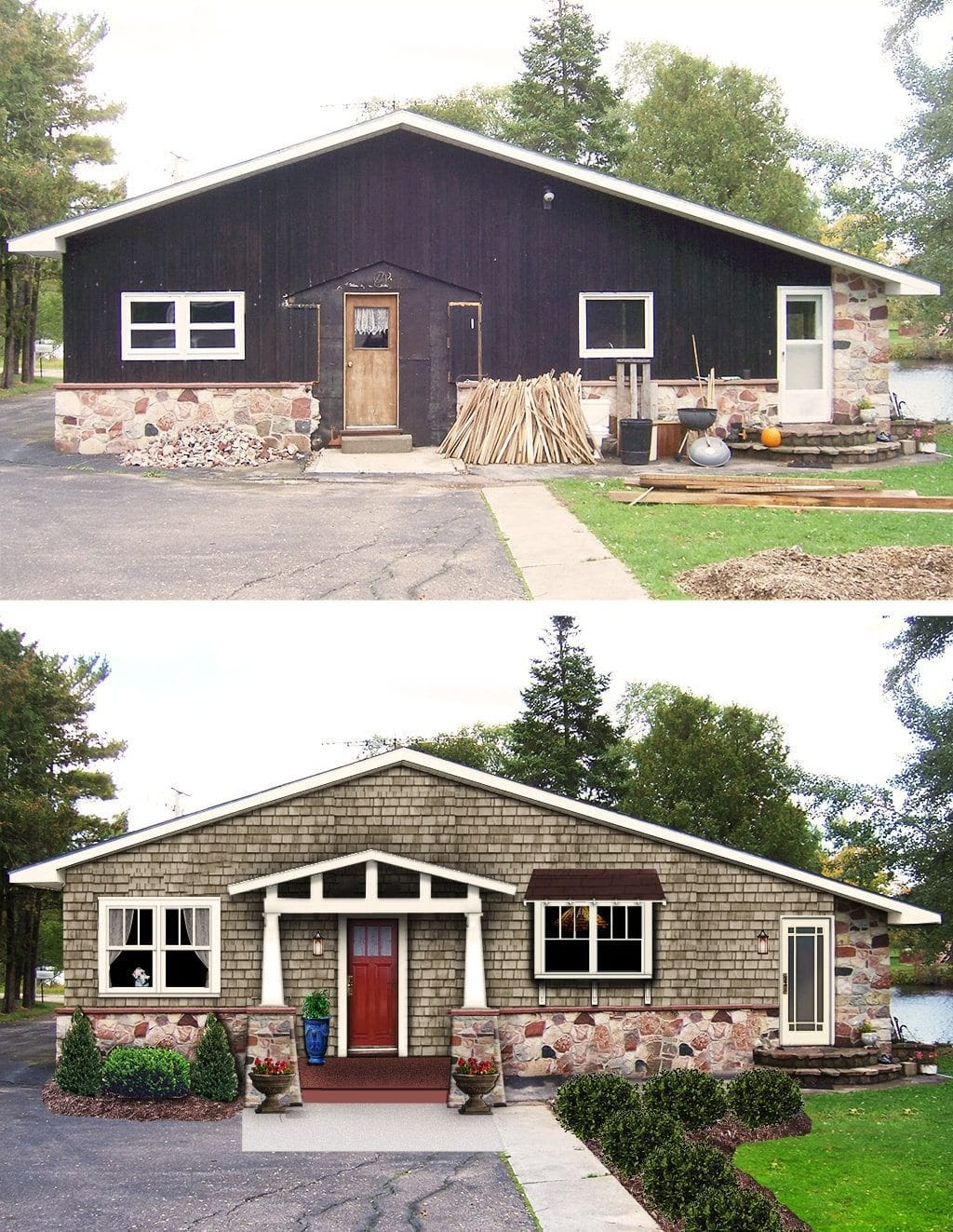 craftsman before and after