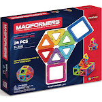 Magformers 26-Piece Magnetic Building Set