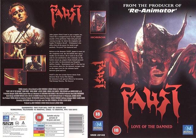 Faust (VHS Box Art)