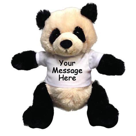 Personalized Stuffed Panda Bear   Gund Baby Zibo Panda