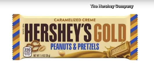 Hershey's Introduces New Golden Hershey's Bar - The First Variation on the Iconic Classic Since 1995!