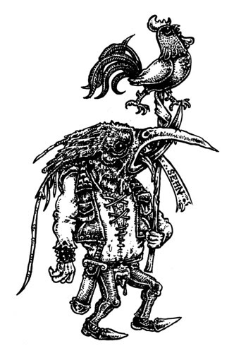 THE GOBLIN: Apocalypse Punx & Bird-faced Goblin gits.