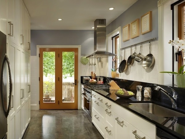 Galley kitchen ideas - functional solutions for long ...