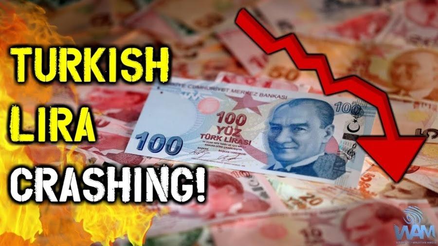 Ποιες οι αιτίες της κατάρρευσης της τουρκικής λίρας έως 6,63/ δολ; – Γιατί οι ΗΠΑ «χτυπούν» την Τουρκία και οι δεήσεις Erdogan στον... Αλλάχ