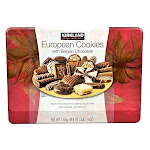 Kirkland European Cookies with Belgian Chocolate, 49.4 oz