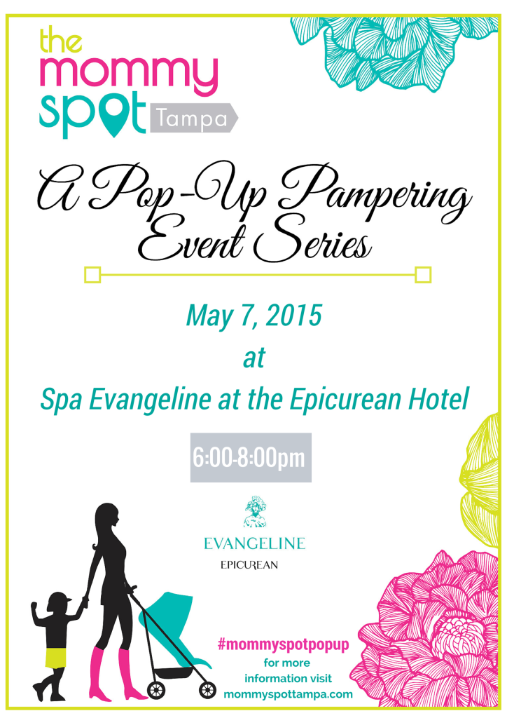Spa Evangeline Pop-Up Pampering