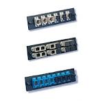 FiberOpticx Adapter Plate - Dual SC - 6 Port Multimode / Singlemode -