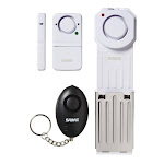SABRE White Multi-Material Alarm Home Security