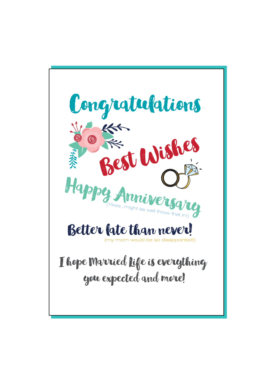 Belated Wedding Card Social Butterfly Designs