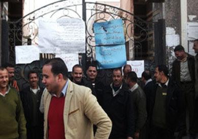 أمناء شرطة قسم ثان أسيوط يغلقون أبوابه – أرشيفية