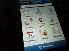 فيسبوك, موبايل