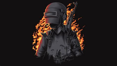 pubg dark illustration wallpapers hd wallpapers