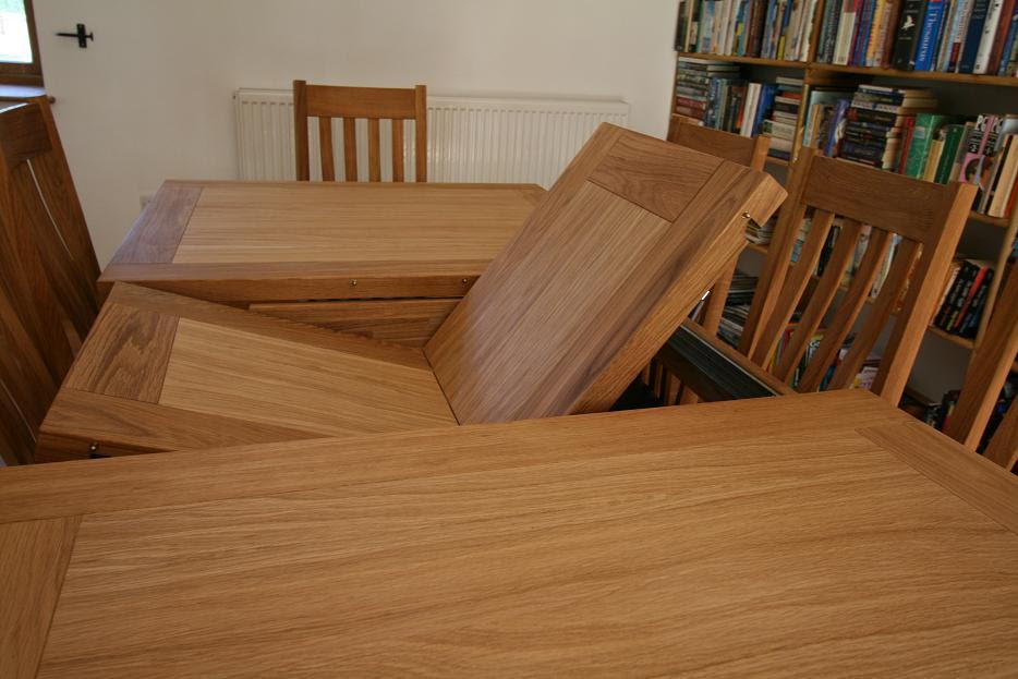 Tallinn Oak Dining Sets Solid Oak Dining Table Sets